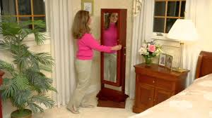 Gold & Silver Safekeeper Double-Sided Jewelry Armoire By Lori ... Qvc Mirrored Jewelry Cabinet Full Length Mirror Armoire Canada Gold Silver Safekeeper By Lori Greiner Interior Armoires Faedaworkscom Size Wall Kirklands Soappculturecom Amlvideocom Luxury Deluxe Box Page Over The Door Black White Wall Jewelry Armoire Abolishrmcom