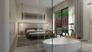 Open Bathroom Concept For Your Master Bedroom Chic Open Bathroom Concept For Your Master Bedroom Chic Home