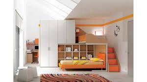 chambre enfant lits superposés en mezzanine compact so nuit