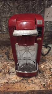 Red Keurig Coffee Maker