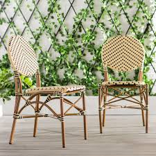 Ivy Bronx Beirut Stacking Patio Dining Chair | Wayfair Patio Chairs At Lowescom Contemporary Ding Chair Stackable Recyclable Product And Modern Lowes Round And Ding Outdoor Costco Alinum Depot Noble House Dover Multibrown Stackable Wicker Chair Mercury Row Corrales Stacking Reviews Wayfair Plastic Herman Miller California White Furnish Vifah 3d 2 Included In Outdoor Chairs Backydinajarcom Trade Winds Restaurant With Centauro Cantilever Couture