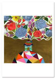100 Blooming House Art Print