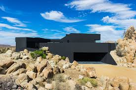 104 Mojave Desert Homes Black House Imposing Architecture And Dramatic Landscape