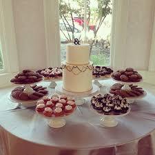 Simple Homemade Wedding Dessert Table Weddingdessert Desserttable Diywedding Sweets