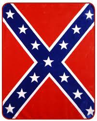 rebel flag mink blanket heavy weight civil war stuff online store