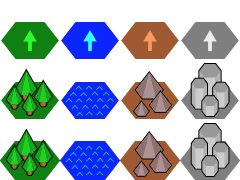 how to create hexagonal tilemaps in tiled map editor