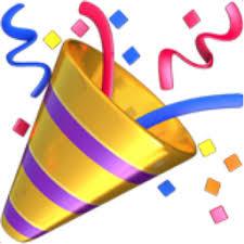 Party Popper Emoji U 1F389