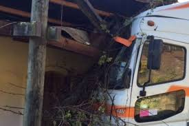100 Truck Wrecks Videos Outofcontrol Truck Crashes Into Hawkes Bay Winery Stuffconz