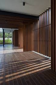 100 Wallflower Architects Enclosed Open House Architecture Design