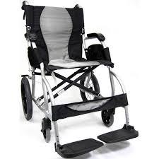 Transport Chair Or Wheelchair by Karman S Ergo Lite Ultra Light Ergonomic Transport Chair