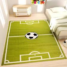 kinder fuß spiel teppich grün kurzflor r9869 vimoda homestyle