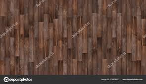 Seamless Wood Texture Background Panoramic Dark Floor Stock Photo