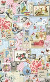 Pip Pastel Sweet Memories Wallpaper Shabby Chic Style