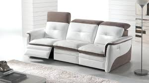 canape relax cuir blanc canape canape electrique relax himolla 2 places cuir canape