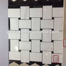 China Wihte Marble Mosaic Tiles Floor Stone