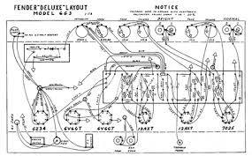 Fender Bassman Cabinet Plans by Fender Deluxe 6g3 Layout Bulbo Valve Pinterest Fender