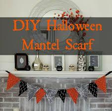 Halloween Fireplace Mantel Scarf by Diy Halloween Mantel Scarf Wife In Progress