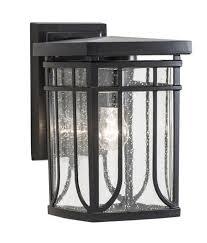 patriot lighting皰 francis 10 5 black 1 light outdoor wall light