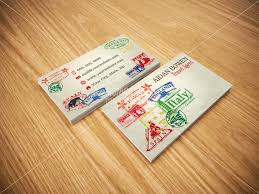 Travel Business Cards Agent Agency