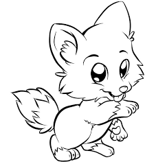 Print Baby Fox Coloring Pages About Download Cute Foxes