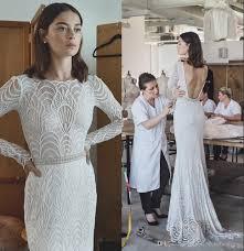 elegant sophisticated lace wedding dresses lihi hod 2017 with long