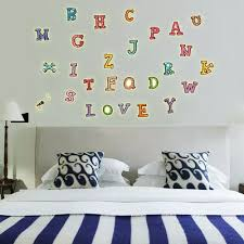 vova pvc kreative farbe englisch buchstaben leuchtende