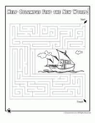 Columbus Day Printables Nina Maze