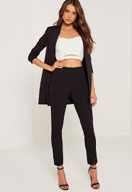 skinny pants and slim fit pants for women missguided
