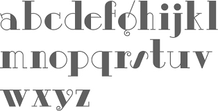 Dignity Roman By The Unconventional 30s Lettering Artist Alphonso E Tripp Vielle Varsovie NF 2003 Raskalnikov Cyrillic Simulation Font