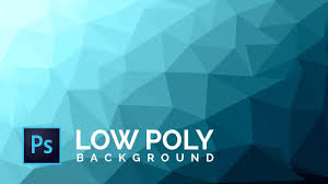 100 Cool Blue Design How To Make A Low Poly Background Photoshop CS6CC Tutorial Background