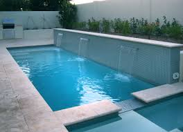 water feature and swimming pool tile www alpentile pool