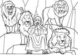 Bible Characters Coloring Picture For Kids