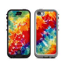 Lifeproof iPhone 5C Nuud Case Skin Tie Dyed by Retro