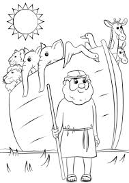 Click To See Printable Version Of Noahs Ark Animals Two By Coloring Page