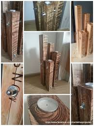 Chandelier Made Out Of Recycled Pallet Wood For More Information Check My Facebook Page