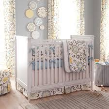 Bedding Spa Pom Pon Play Crib Bedding Gender Neutral Baby Bedding