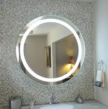 led wall mount mirror cozy lighted wall mirror with