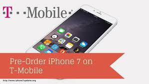 Pre Order iPhone 7 on T Mobile iPhone7Updates