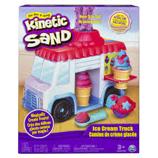 Kinetic Sand Ice Cream Truck Set - Toys
