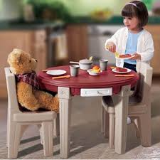 Step2 Furniture Toys by Step 2 Lifestyle Dining Room Table Chairs Set Shespeaks Reviews