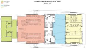 Chateau Floor Plans Gallery Of Chateau Cheval Blanc Winer Christian De