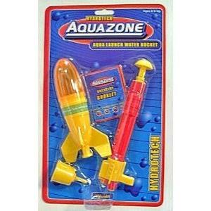 Toysmith Kids Aqua Launch Water Powered Space Rocket