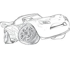 Lightning Mcqueen Coloring Pages Printable Pdf 4