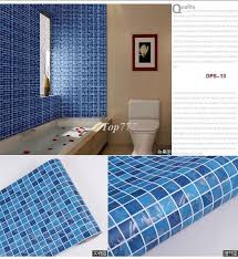 pvc mosaic wall sticker self adhesive wallpaper for kitchen and