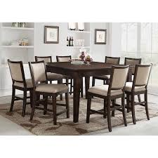 9 Piece Dining Room Table Sets Elegant Callen Counter Height Set For