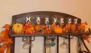 37 Fantastic Fall Kitchen Decor Ideas Astonishing With Glass Rack