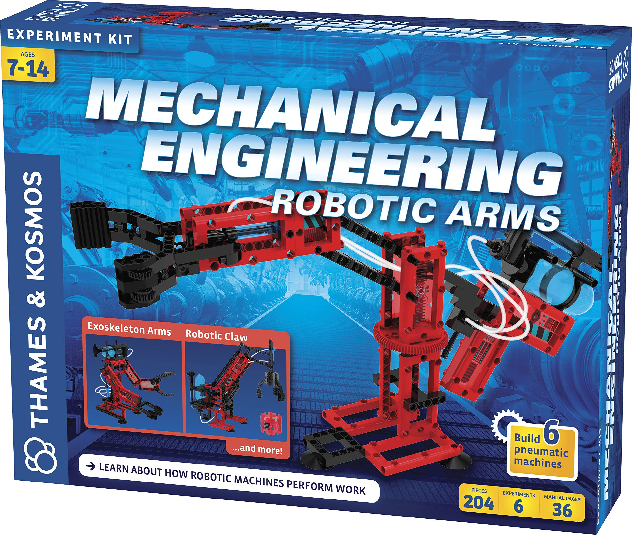 Thames & Kosmos Mechanical Engineering: Robotic Arms Science Kit