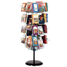 30 Pocket Childrens Book Revolver Display Rack