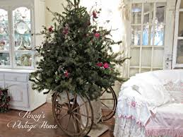 Tumbleweed Christmas Trees by Penny U0027s Vintage Home How To Make A Short Fat Christmas Tree