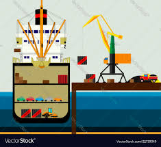100 Truck And Transportation Cargo Logistics Truck And Transportation Vector Image